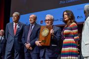 Jean-Jack Queyranne, Gérard Collomb, Martin Scorsese et Salma Hayek