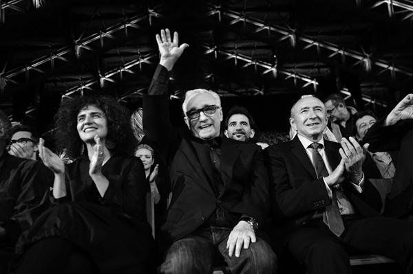Martin Scorsese et Gérard Collomb