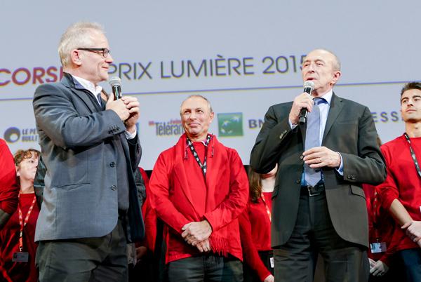 Thierry Frémaux et Gérard Collomb