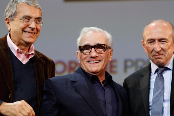 Jean-Jack Queyranne, Martin Scorsese et Gérard Collomb