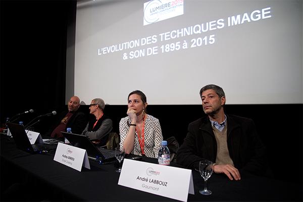 Evolution des techniques images et son de 1895 à 2015 par Gaumont