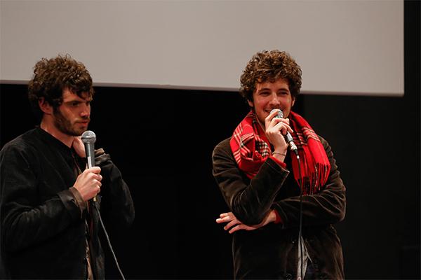 Felix Moati et Vincent Lacoste