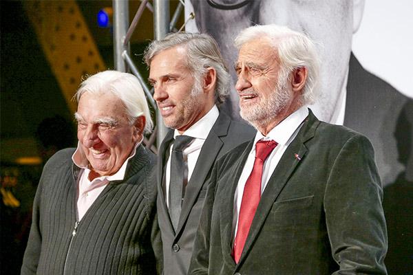 Paul Belmondo et Jean-Paul Belmondo