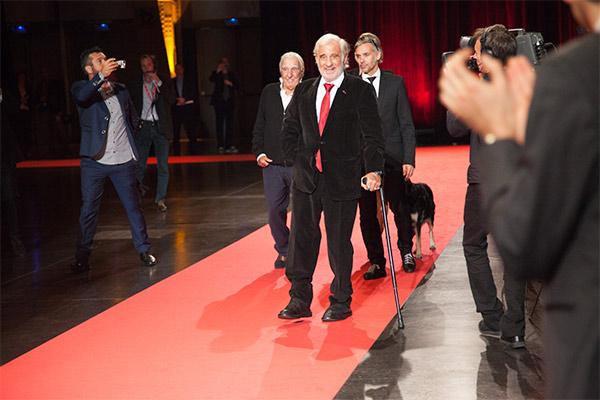 Jean-Paul Belmondo et Paul Belmondo