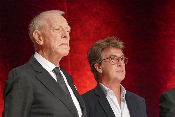 Max Von Sydow et François Cluzet