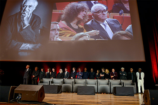 Martin Scorsese et les invités
