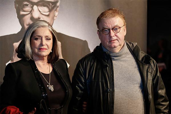 Françoise Fabian et Dominique Besnehard