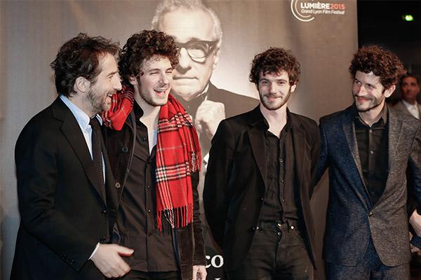 Edouard Baer, Vincent Lacoste, Félix Moati et Clément Sibony
