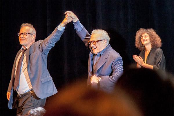 Thierry Frémaux et Martin Scorsese