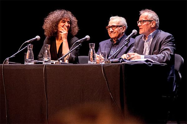Martin Scorsese et Thierry Frémaux